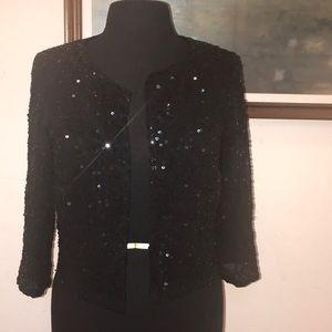 Silence and noise Sequin bolero Size L